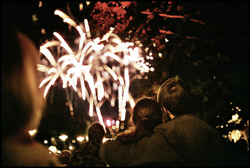 Samuli Ikäheimo on Flickr: ilotulituspari - firework couple