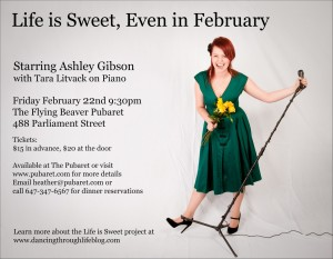 Ashley Gibson: Life Is Sweet